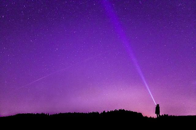 photo de nuit, ciel étoilé, ciel nocturne