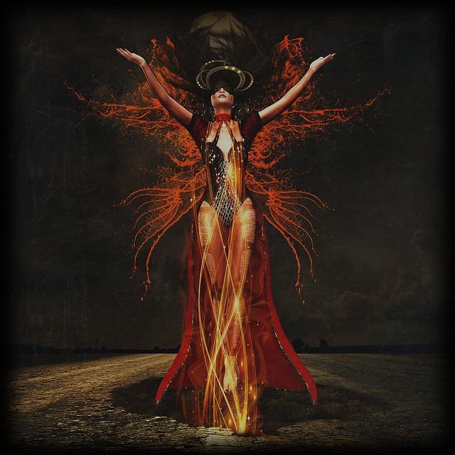 femme, la sorcière, transformation