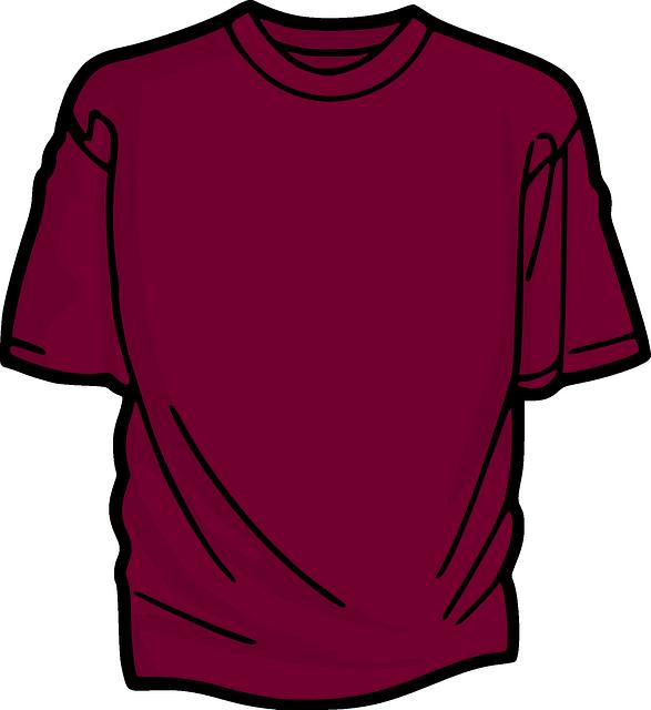 t shirt, chemise, vêtements