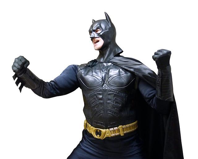 batman, costume, super héros