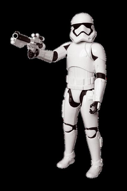 star wars, storm trooper, chiffres