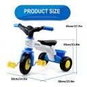 Baby Balance Balker, Tricycle pour Enfants, avec pédale de Pied et boîte de Rangement, sécurité légère Grip Confortable pour 1-3-5 Ans – Jeu pour enfant