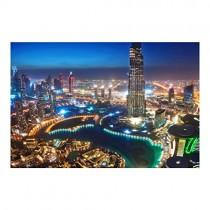 Bilderwelten Papier peint intissé – Dubai Marina – Photo Wallpaper wide papier peint photo intissé tableau mural photo 3D mural, Dimension HxL: 290cm x 432cm – Divertissement pour enfant