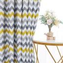 Desinding Blackout Rideaux Rideaux géométriques imprimés pour Salon Chambre Moderne Chambre à Coucher Cuisine Traitement Rideau Drapé Rideaux d'extérieur (Color : Yellow, – Jouet pour enfant