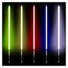 GAOLE 100cm Lightsaber Jedi Sith Star Light Saber 11 Couleur Sabre Sabre Métal Laser Laser Cosplay Boy / Gril Sabre Jouet Lumineux ( Color : Silver HD Green ) – Jeu pour enfant