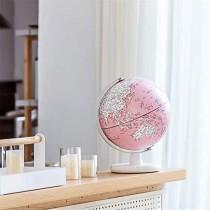 Globe Terrestre Géographique Éclairé 2 en 1, Globe Terrestre De Bureau Éducatif pour Enfants Et Enseignants, Plus De 4000 Noms De Lieux, Cadeau Rose – Jeu pour enfant