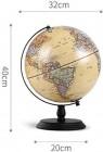 Globe terrestre éducatif, Globe terrestre avec Globe Lumineux illuminé – 13 'pour Enfants et Adultes – Le Globe terrestre interactif Fait de Grands Jouets éducatifs, Four – Jeux pour enfant