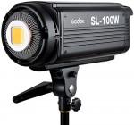 Godox SL-100W LED Vidéo Lumière 100W 5600K Version Blanche Continue Lampe avec Télécommande pour Photo Studio Photographie Video Recording – Monture Bowens – Jeu pour enfant