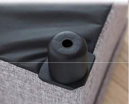 HZWDD Ottoman de Rangement Pliable Banc carré à Une Place avec Couvercle Amovible Pieds en Plastique Table Basse Repose-Pieds Tabouret pour Jouets, Livres et Chaussures,  – Divertissement pour enfant