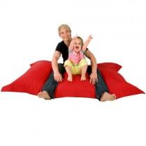 Hi-BagZ® – Pouf géant de Sol à 4Bords – Extra Large – pour intérieur/extérieur–100% résistant à l'eau et aux intempéries – Jeux pour enfant