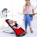 LVJUNQ Transat pour bébé Portable de Conception Ergonomique, avec Fonction de balançoire Automatique, Confortable Respirant et Stable en Toute sécurité, Convient à la Cha – Jeu pour enfant
