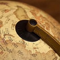 Lampe Globe terrestre éclairée – Globes géographiques 2 en 1 avec lumière LED Globe terrestre de Bureau avec Support Globes mondiaux éducatifs pour Enfants Cadeau – Jeu pour enfant