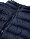 Tommy Hilfiger Unisex Light Down Vest Jacket, Bleu Marine, 80 cm Mixte Enfant – Jeu pour enfant