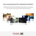 ViewSonic VX2458-C-mhd Moniteur IPS 24″ Full HD 1920×1080 Pixels, Incurvé, FreeSync, 1 ms, 144 Hz, HDMI, DP, Haut-parleurs, Noir – Jeux pour enfant