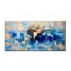 ZNYB Affiche Murale Decoration Abstrait Design Art 100% Peint À La Main Peintures À l'huile Mur Photos Toile Mur Art Peinture À l'huile pour La Maison Salon Décor – Jouet pour enfant
