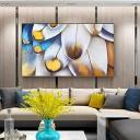 ZNYB Cadre Decoration Murale Plume Design décoration Murale Peinture à l'huile Peinture à l'huile Moderne sur Toile Peinture Abstraite Pop Art Pas Cher peintures Modernes – Jouet pour enfant