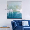 ZNYB Tableau Moderne Design Abstrait lumière Couleur Art Pure Peinture à l'huile sur Toile Peinte à la Main Art Mural décoration de la Maison pièces oeuvre et peintures T – Jouet pour enfant