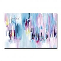 ZNYB Tableau Salon Decoration Abstrait coloré sans Cadre Toile Art Mural Pur Peint à la Main Moderne Maison Salon décoration pièce peintures murales oeuvre – Jeu pour enfant