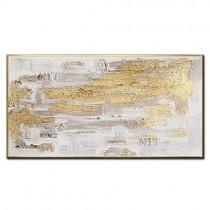 ZNYB Tableau Salon Decoration Peintures peintes à la Main la Feuille d'or Image à la Main Art Moderne Peinture à l'huile Abstraite sur Toile pour Salon décor à la Maison* – Jeux pour enfant