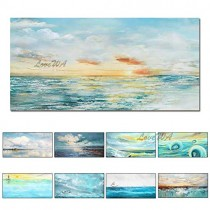 ZNYB Tableaux Peintures sur Toile Abstrait Grande Taille hôtel Mur décoration intérieure Toile oeuvre Peinture à l'huile Mur Photo Art pour Salon décor – Jeux pour enfant