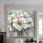 ZNYB Tableau Salon Decoration Mur Toile Fleur Art Abstrait Peinture à l'huile Texture Floral Mur Art décoration de la Maison pièce pour Salon – Jeux pour enfant